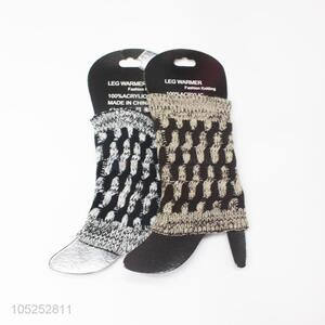 New products fashion beautiful girls knitted leg warmer