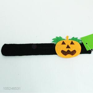 Promotional Gift Pumpkin Bracelet Clap Circle Pat Hand Ring Children Gift Party Supply