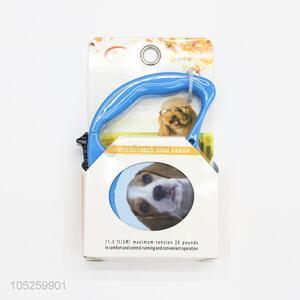 Promotional Gift Blue Retractable Dog Leash