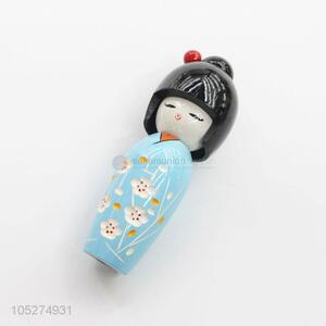Promotional Low Price Mini Baby Toy Wooden Doll for Kids