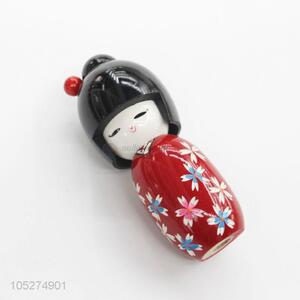 Best High Sales Cute Wooden Dolls Japanese Dolls Christmas Gift