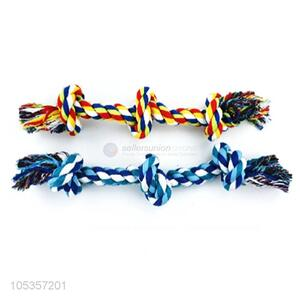 Wholesale Three Knots Cotton Rope Chew Toys For Pet
