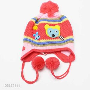 Promotional Wholesale Knitted Kids Hats For Kids Accessories