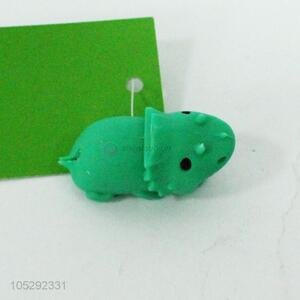 Promotional animal shape silicone data line protector