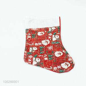 Fashion Design Colorful Christmas Sock Festival Decoration