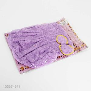 China supplier women microfiber quick dry shower cap