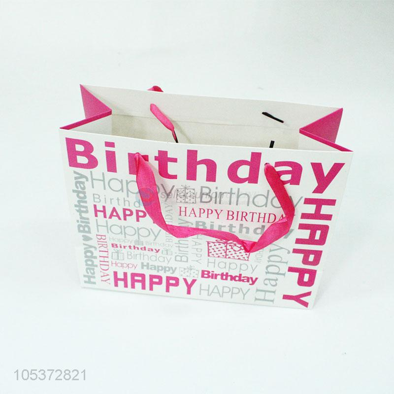 Wholesale Portable Gift Bag For Birthday Party
