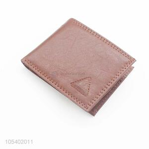 Best Selling Leather Wallet Short Card Holder For Man