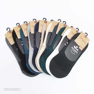 Cheap Professional Breathable Boat Sock Man Cotton Socks
