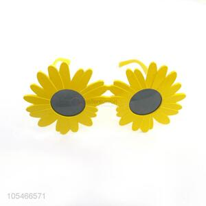 China Factory Sunflower Girl's Fashionable Party Glasses