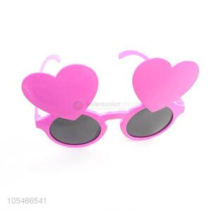Factory Excellent Glasses Christmas Gift Heart Shape Party Glasses