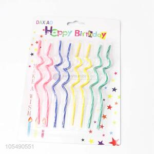 Bottom Price Colorful Birthday Candles Party Decor Supplies
