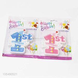 Reasonable Price Baby 1st Birthday Candles Birthday Party Decoration