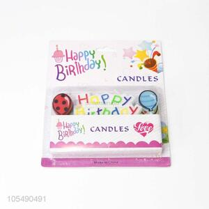 Good Sale Happy Birthday Candle Decoration Supply