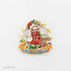 New arrival indoor Christmas series gift resin fridge magnet