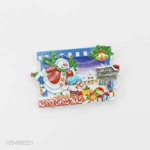 Super quality Christmas series gift resin fridge magnet