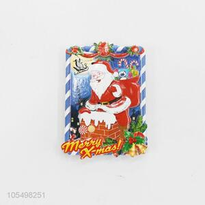 Bottom price soft resin refrigerator magnet for Christmas