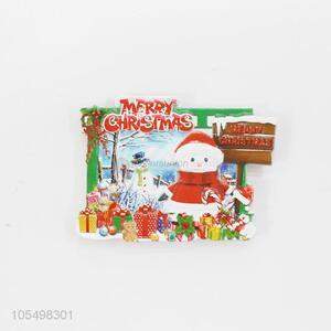Made in China indoor Christmas decoration 3D fridge magnet