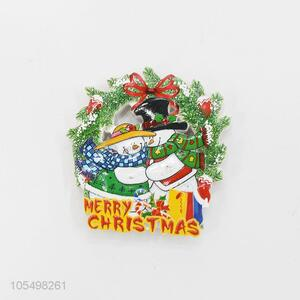 High sales indoor Christmas decoration 3D fridge magnet