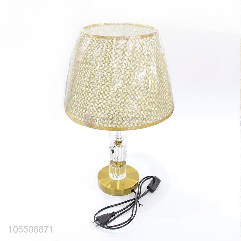 Recent Design Iron Base Crystal Table Lamp Reading Lamp