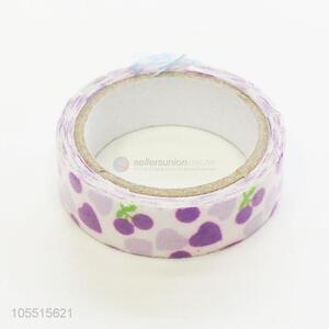 Professional handmade ornaments use use printed cloth duct adhesive tape