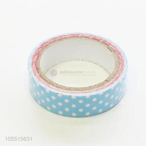 Top sale decorative dots printed sealing and packing cloth duct tape