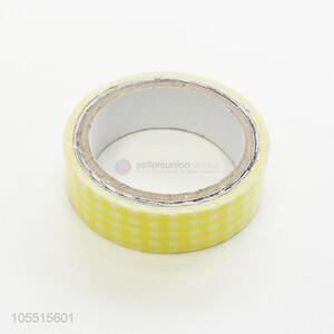 Popular promotional decorative check printed sealing and packing cloth duct tape