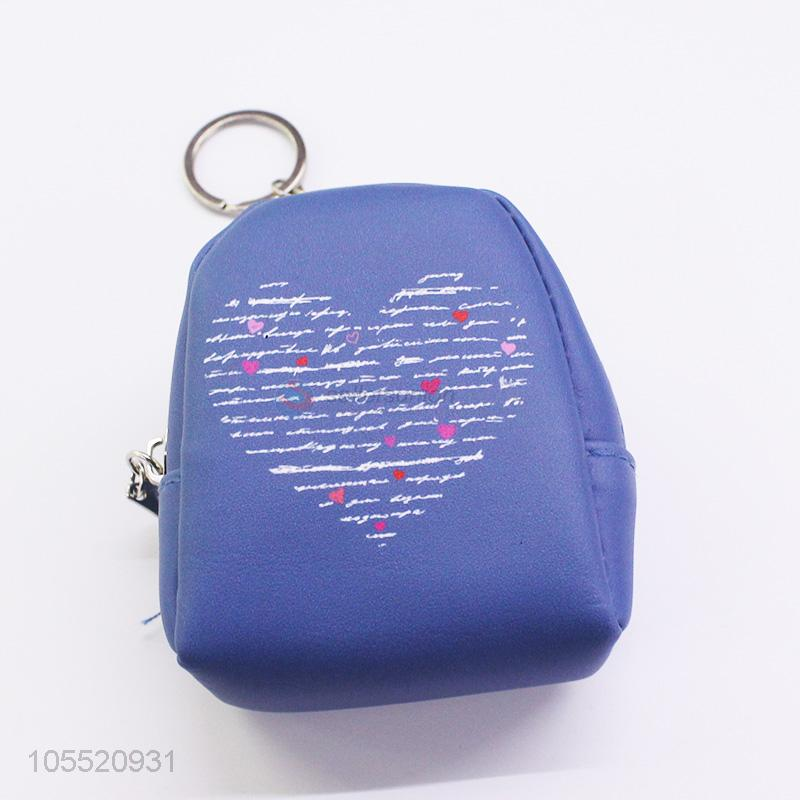 New style custom backpack shape printed coin purse coin bag