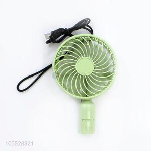 Unique Green USB Charging Handheld Fan Outdoor