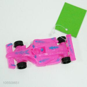 China OEM low price plastic racing car toy for kids