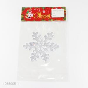New Design Snowflake Christmas Jelly Sticker Fashion Decoration