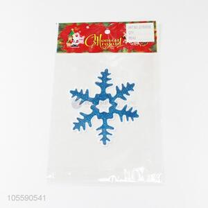 Best Quality Colorful Snowflake Shape Jelly Sticker Christmas Decoration