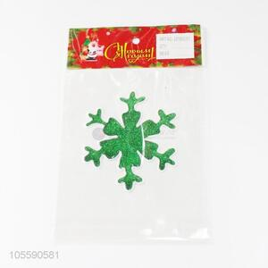 New Arrival Christmas Snowflake Shape Jelly Sticker Fashion Decoration