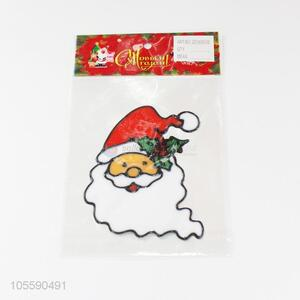 Wholesale Santa Claus Shape Jelly Sticker Fashion Christmas Decoration