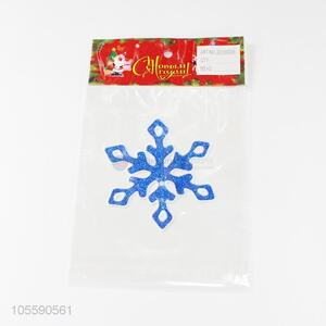 High Quality Christmas Snowflake Shape Jelly Sticker