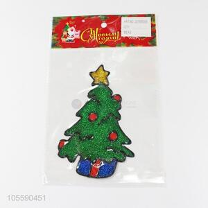High Quality Christmas Tree Shape Multipurpose Christmas Jelly Sticker