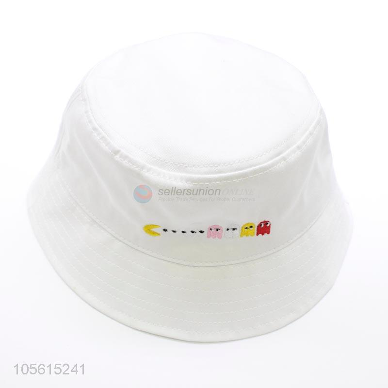 f0ddd2ccdd9e9 Cute cartoon patttern plain bucket hat summer cap unisex - Sellersunion  Online