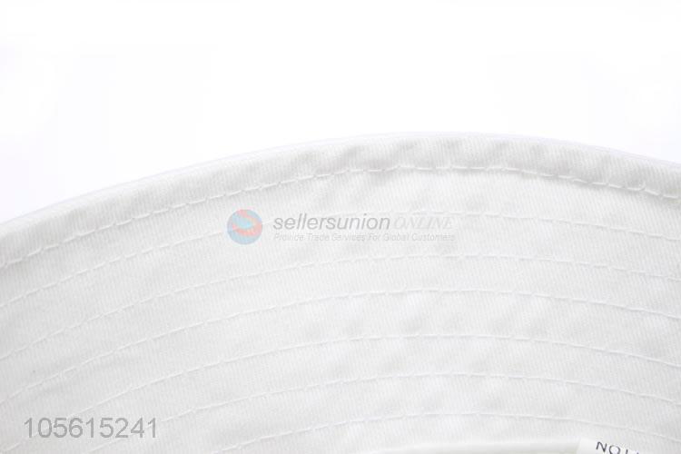 24e456290779a Cute cartoon patttern plain bucket hat summer cap unisex ...
