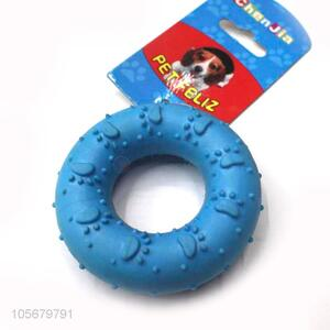 Wholesale cheap durable ring circle dog chew toys for pet
