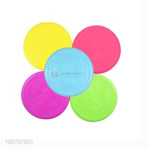 Good Quality Silicone Pet Frisbee Best Pet Chew Toy