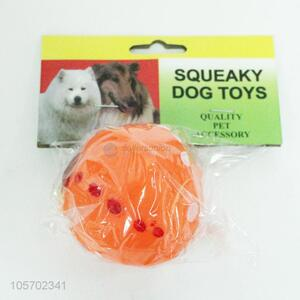 Direct factory wholesale squeaky dog  toy balls