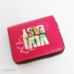 New Design Fashion Zipper Purse Ladies Card Holder