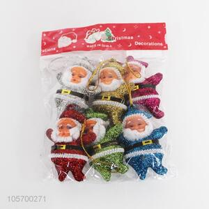 Good Sale 6 Pieces Santa Claus Christmas Ornament