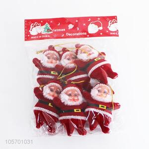 New Arrival 6 Pieces Santa Claus Best Christmas Ornament