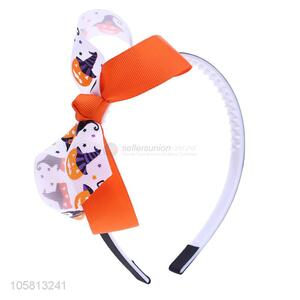 Best Selling Bowknot Design Hair Clasp Halloween Hair Hoop