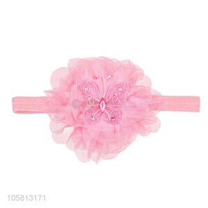 Fashion Accessories Net Yarn Artificial Flower Head Band
