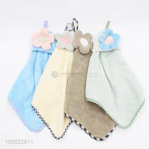 Top Sale Flower Hanging Kitchen Hand Towel