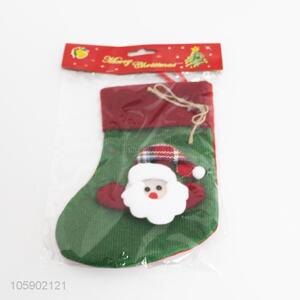 Good quality christmas decoration polyester stocking