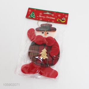 Wholesale good quality christmas pendant snowman ornaments