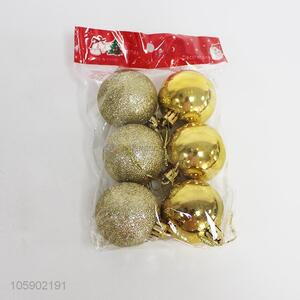 High Quality 6 Pieces Christmas Ball Best Christmas Decoration